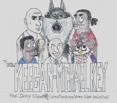 Keegan-Michael Key Tribute by CelmationPrince