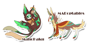 Griffur And Feathercloak Auction (CLOSED) by MahoHaku