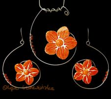 Mandarine Flowers by OlgaC