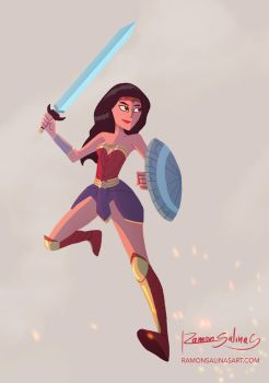 Wonder Woman by ShadowGear65