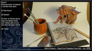 Norse Staff Part.2 Sculpting by North-Steading