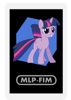 AR Character Card: Twilight Sparkle by EROCKERTORRES