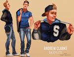 Modern Breakfast Club: Andrew by IsaiahStephens