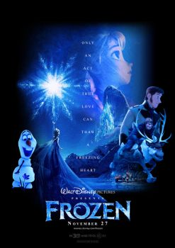 Frozen Custom-made Trailer Poster by HKY91