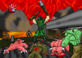 The Ultimate Doom by NeoJimHeadshot