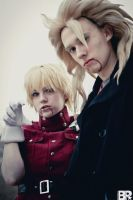Ultimate Crossover! Seras and Goku Join Forces! by TehBlacqCat