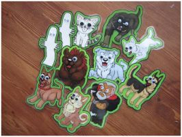 Kitacon Fridgemagnets by SaQe