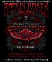Rockin Roses online gallery concept by zdca