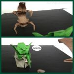 Yoda vs Droideka by Back-2-Life