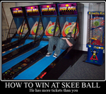 How to win at Skee Ball by AztroDesigns