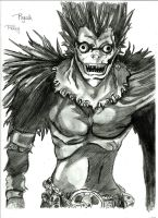 Ryuk by royalsmiley