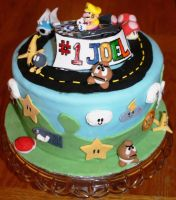 Super Mario Cake by UnholyScroll