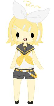 .:Rin Kagamine Chibi:. by MionMaebara
