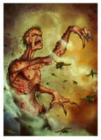 Plague Zombie Cover for Ulisses-Spiele by MichaelJaecks