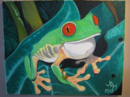 Tree Frog Oil by jdmacleod