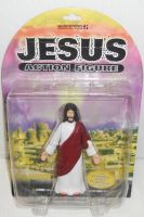 Jesus Action Figure by godofwarlover