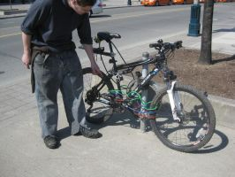 How to Lock a Bike in Toronto by lost-angle