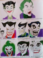 All animated JOKERS! by TheGaboefects