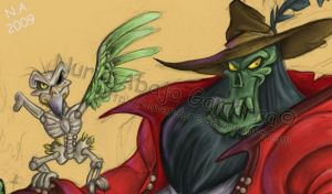 Captain LeChuck by Iluvendure
