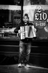 Street Accordian Player by Wrightam