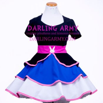 D.Va Overwatch Cosplay Skirt by DarlingArmy