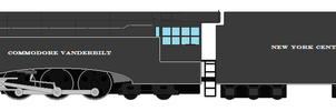Commodore Vanderbilt Locomotive Sprite by Zephyr4501