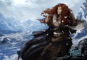 Ygritte by Mariana-Vieira