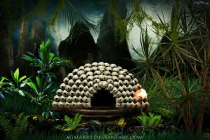 Mbwun Sanctum by thebook TheRelic about Pendergast by AGMarry