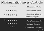 Minimal Player Controls v1.00 by Dashie36