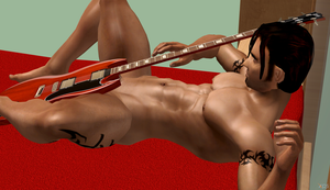 Kurtis - Play With My Guitar by TombRaiderShock