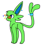 a generic espeon (contest entry) by Cloud9Vee