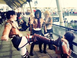 Attack on Titan @ London Expo by 1000014