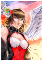 valkyrie's anger by Ithilloth