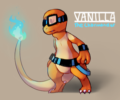 Myself as a Pokemon Doodle by Vanilliana