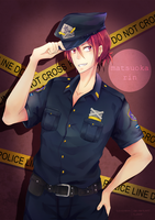 Officer Rin by Toxicmilkk