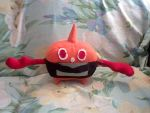 Rotom (Heat) plush by NinjaKirby144