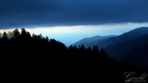 Blue Mountain Morn by ThisWomanWanders