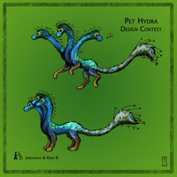 Pet Hydra Design Contest Entry by Siobhan68