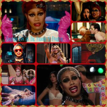 Laverne Cox as Dr. Frank N Furter by pamlaisly232