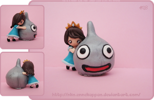 Dragon Quest - Hugged Slime figurine by Nko-ennekappao