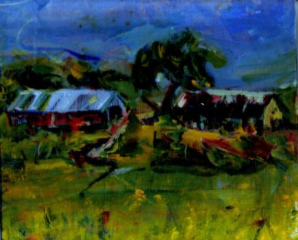 Farm Land by LaurieLefebvre