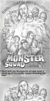 The Monster Squad WIP by WacomZombie