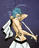 Grimmjow Jaggerjaques by efereedeeaw