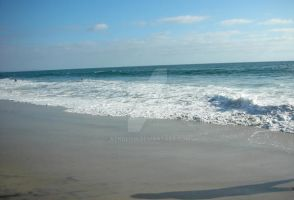 Carlsbad Beach_waves3 by azndlish