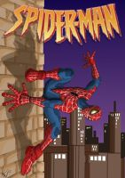 spiderman cover mockup by yanharrison