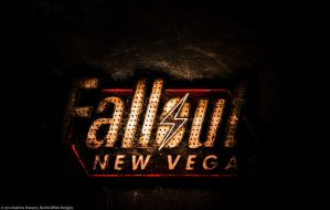 Fallout: New Vegas Wallpaper by RedAndWhiteDesigns