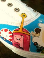 Adventure Shoes WIP Princess Bubblegum by PirateTabby