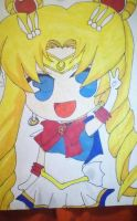 Sailor Moon by MeowImAvery
