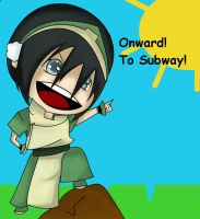 Toph says... by ShinningIron