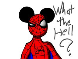 Spidey - WTF? by What-the-Gaff